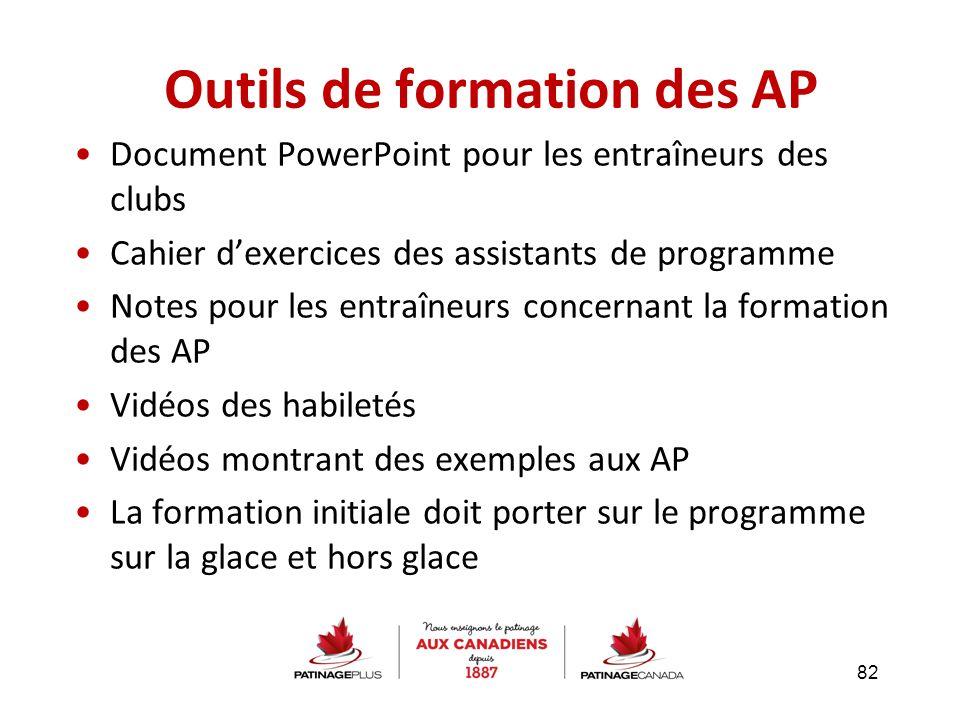 Outils de formation des AP