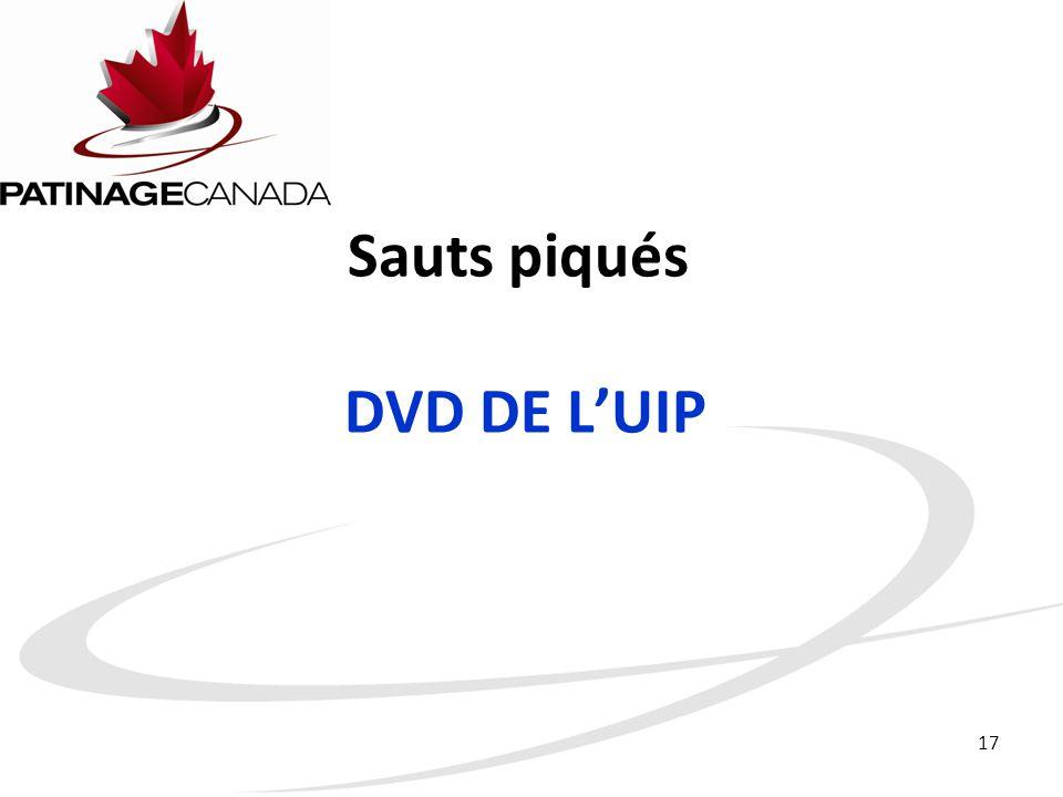 Sauts piqués DVD DE L'UIP