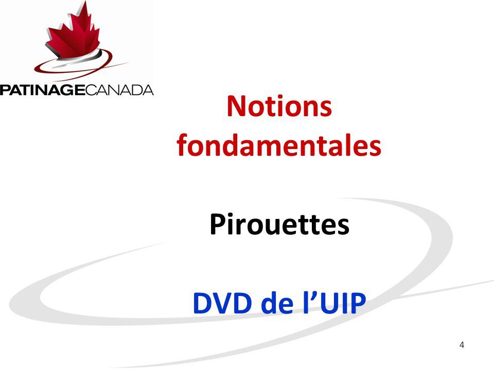 Notions fondamentales Pirouettes DVD de l'UIP