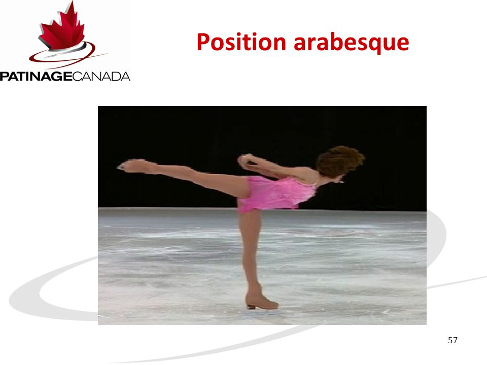 Position arabesque 57