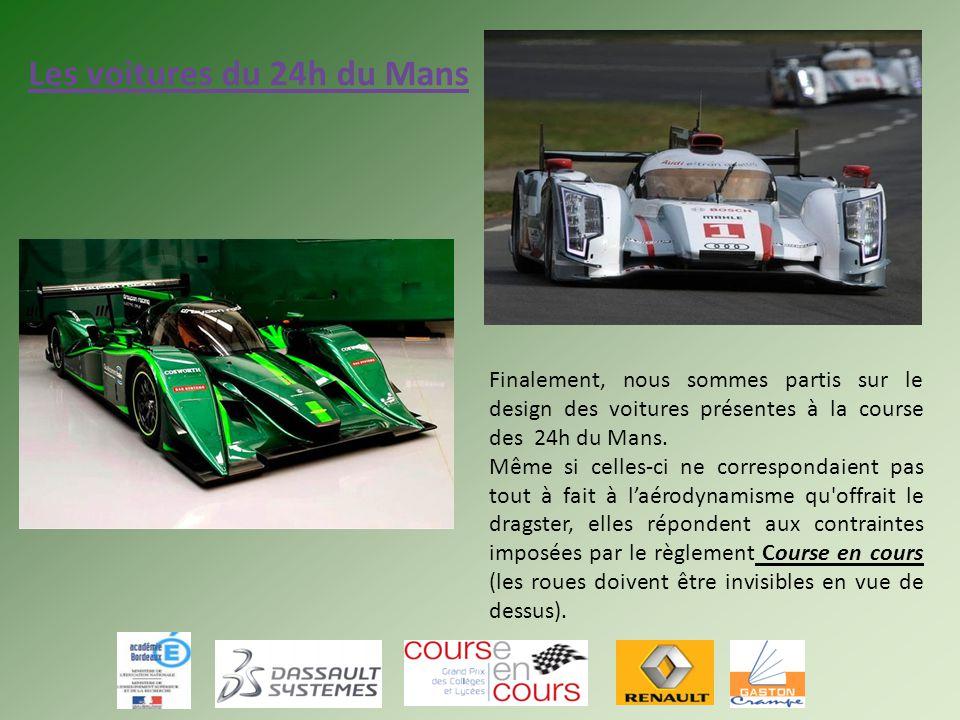 Les voitures du 24h du Mans