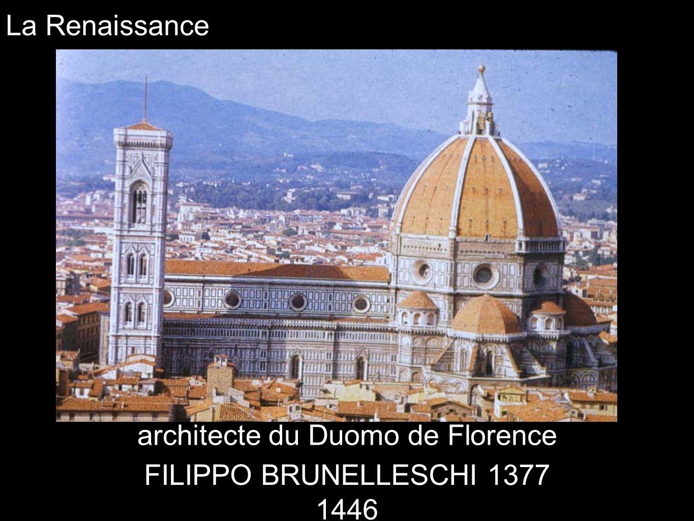 architecte du Duomo de Florence