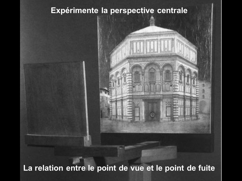 Expérimente la perspective centrale
