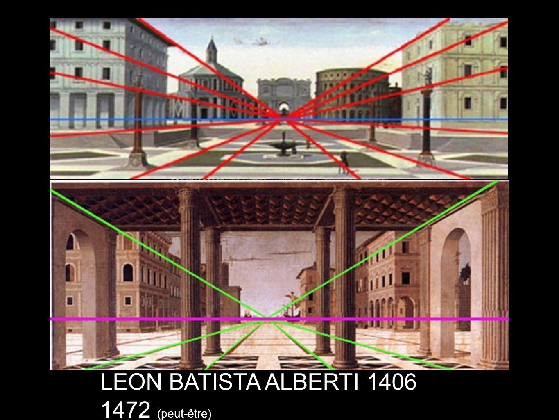 LEON BATISTA ALBERTI 1406 1472 (peut-être)