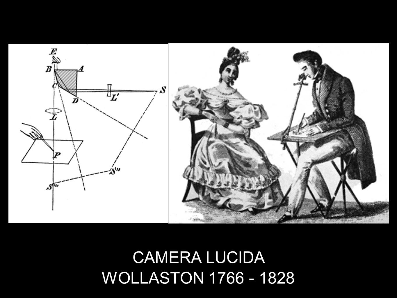 CAMERA LUCIDA WOLLASTON 1766 - 1828