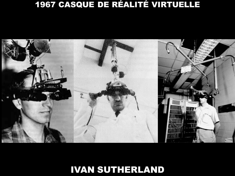 1967 CASQUE DE RÉALITÉ VIRTUELLE