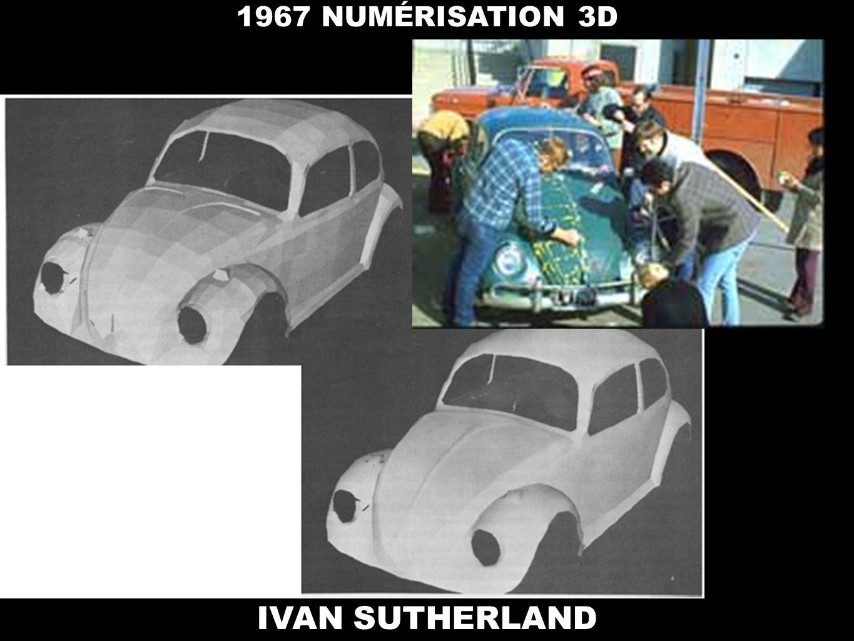 1967 NUMÉRISATION 3D IVAN SUTHERLAND