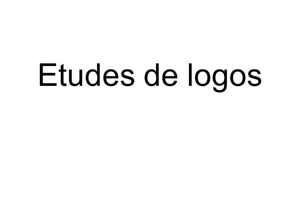 Etudes de logos