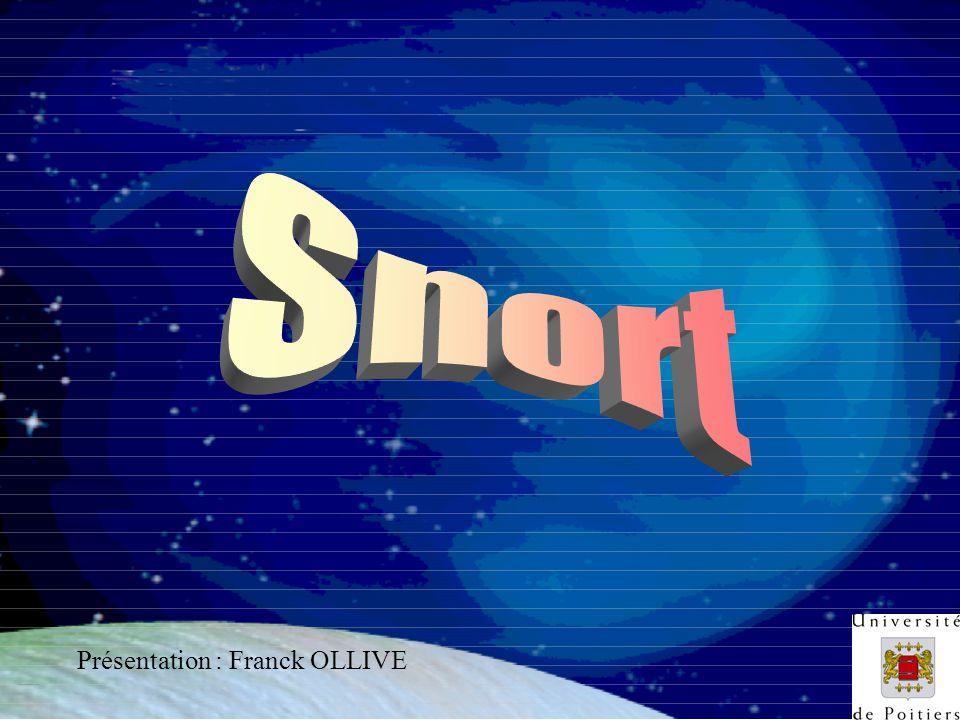 Snort Présentation : Franck OLLIVE