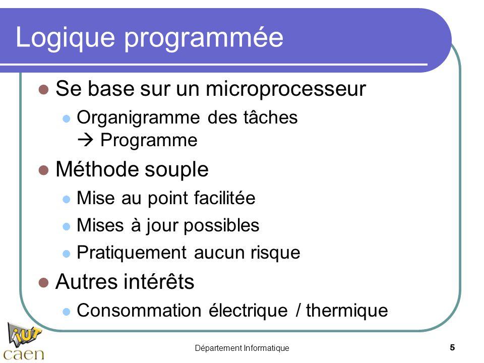 Logique programm e microprocesseurs ppt t l charger for Base logique