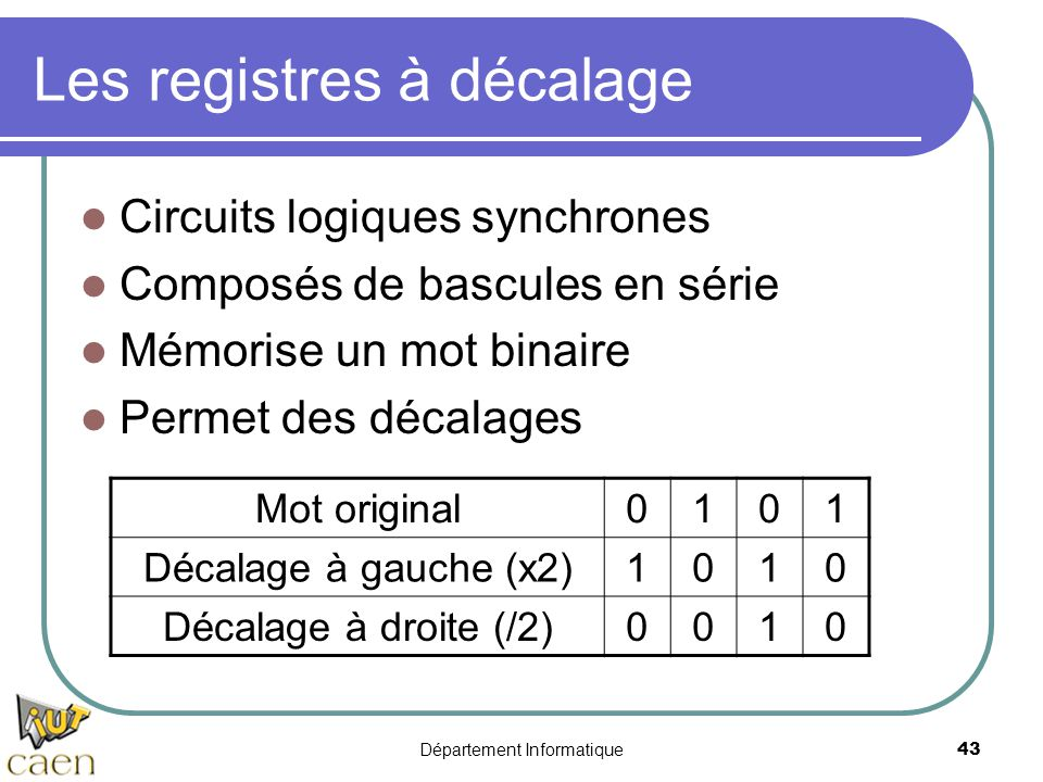 Logique combinatoire logique s quentielle ppt video for Les circuit combinatoire