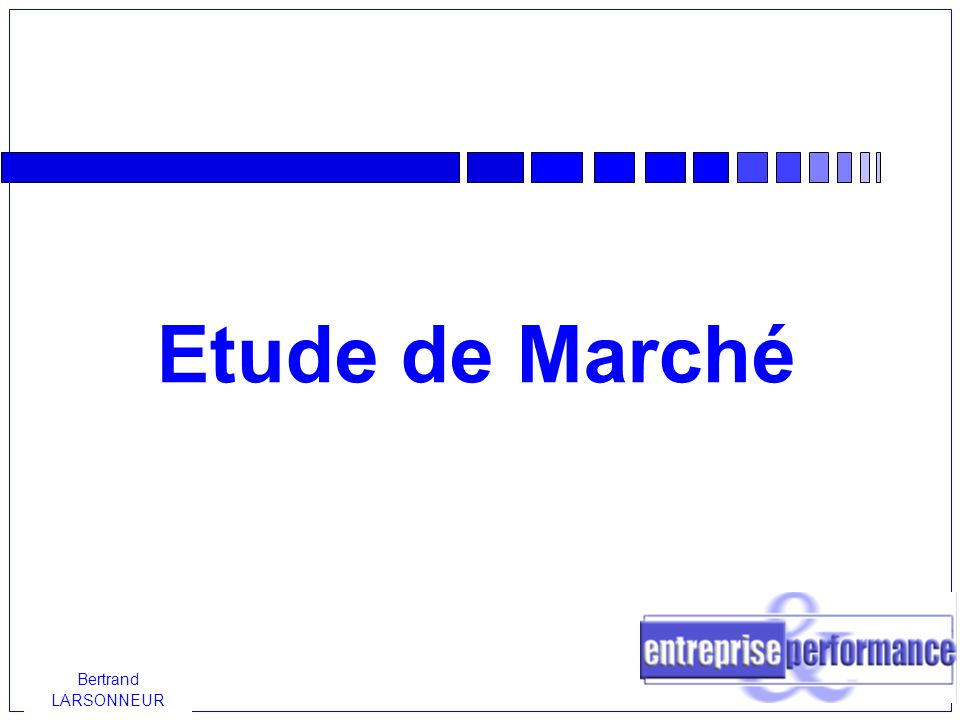 Etude de march ppt video online t l charger - Etude de marche cuisine ...