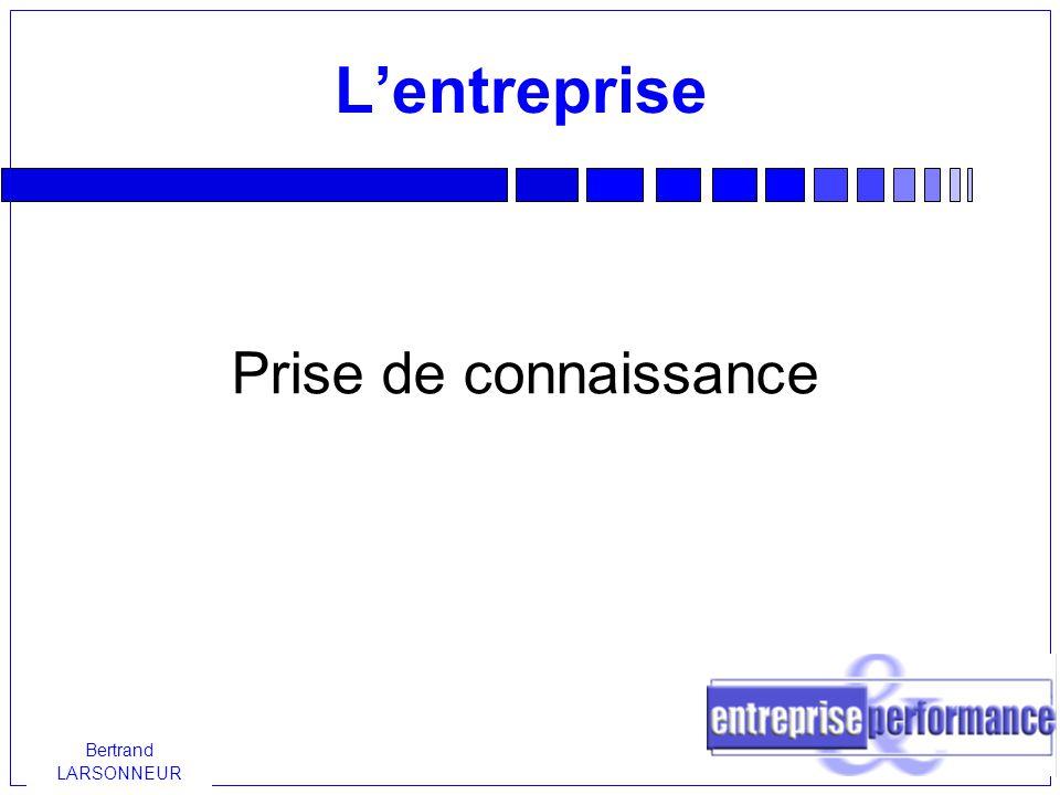L'entreprise Prise de connaissance