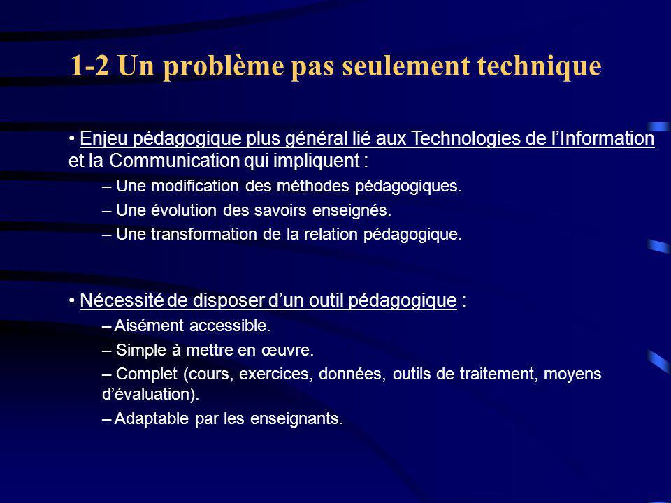 1-2 Un problème pas seulement technique
