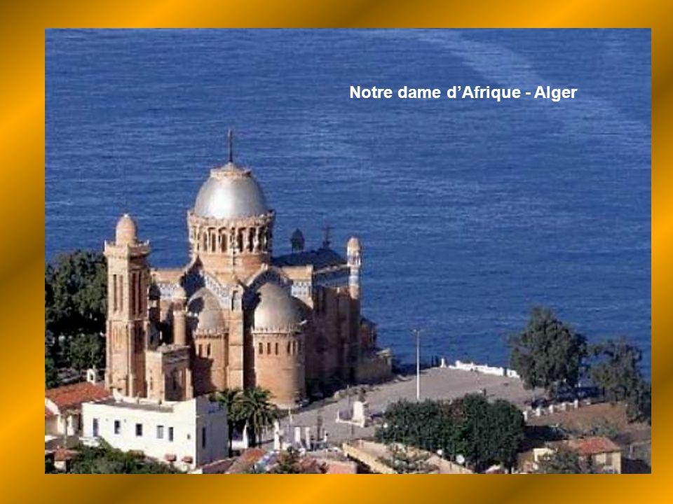 Notre dame d'Afrique - Alger