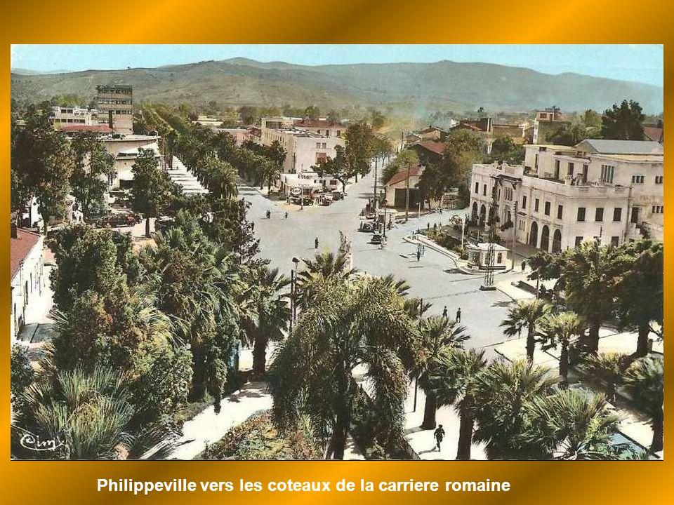 Philippeville vers les coteaux de la carriere romaine