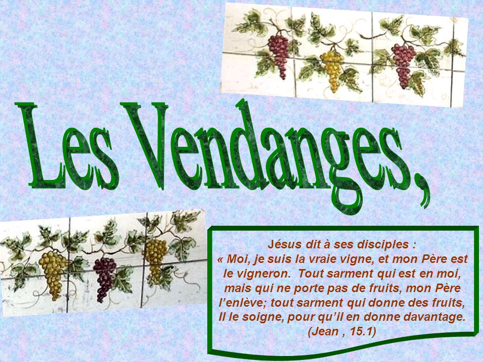 Les Vendanges,