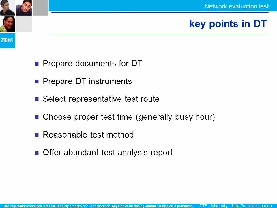 key points in DT Prepare documents for DT Prepare DT instruments