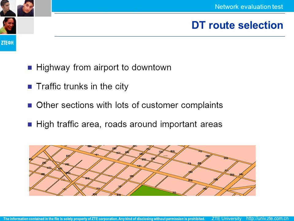 DT route selection Highway from airport to downtown