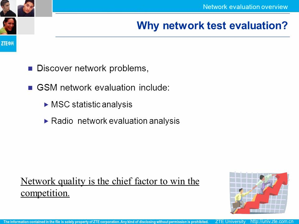 Why network test evaluation