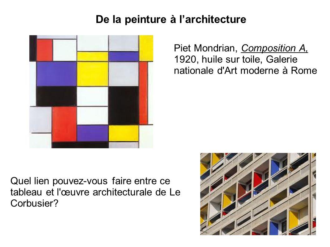 De la peinture à l'architecture