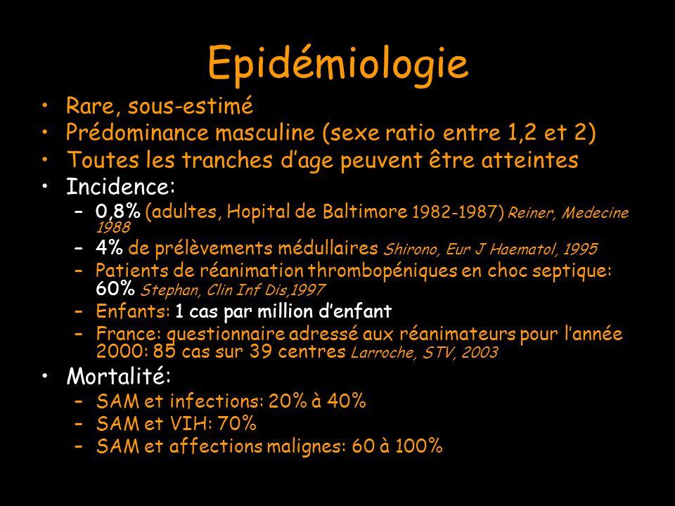 Epidémiologie Rare, sous-estimé
