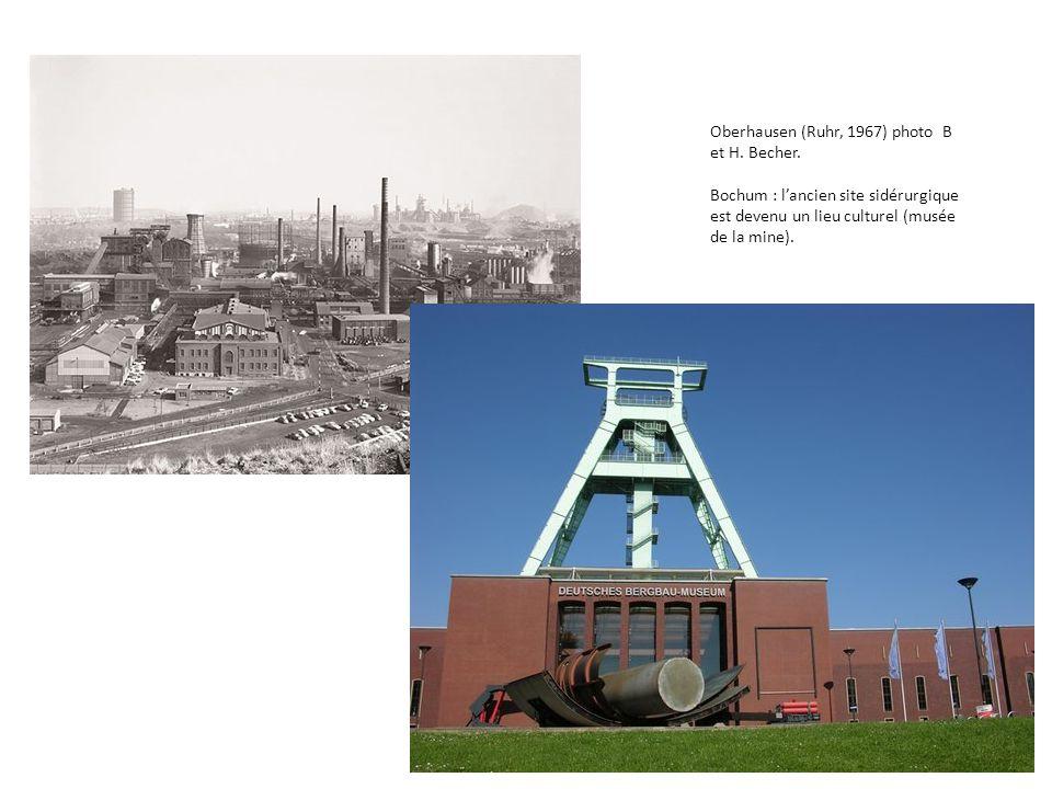 Oberhausen (Ruhr, 1967) photo B et H. Becher