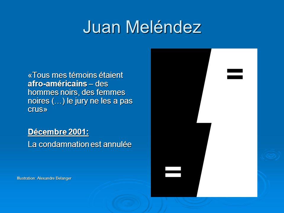 Juan Meléndez Décembre 2001: La condamnation est annulée