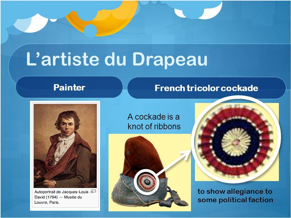 French tricolor cockade
