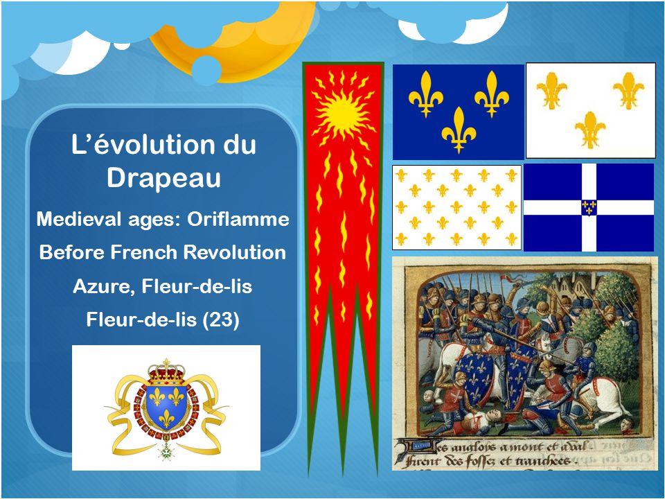 L'évolution du Drapeau