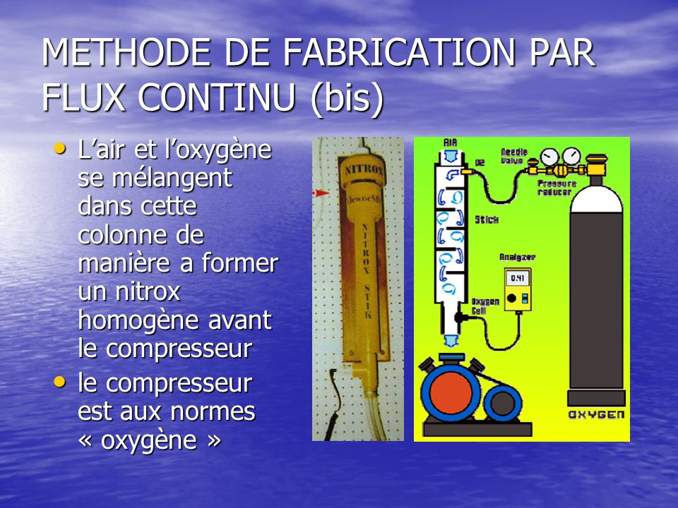 METHODE DE FABRICATION PAR FLUX CONTINU (bis)