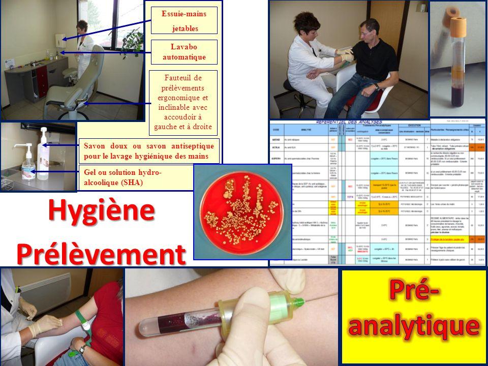Hygiène Prélèvement Pré-analytique Essuie-mains jetables