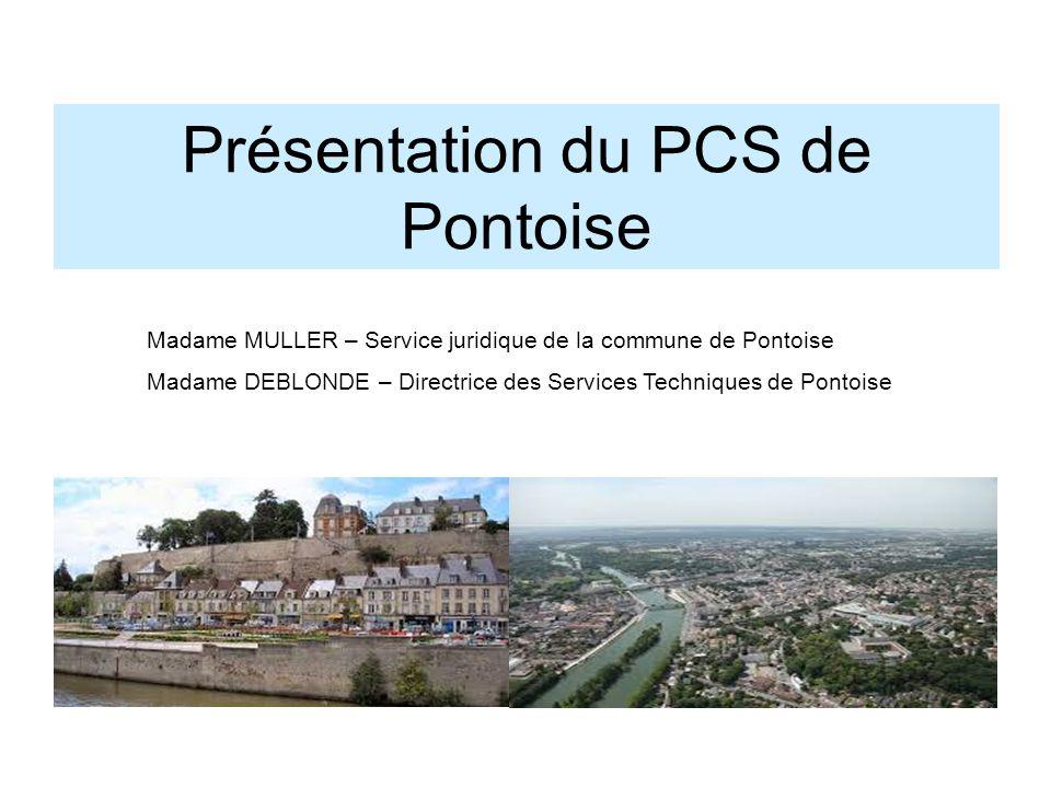 Présentation du PCS de Pontoise