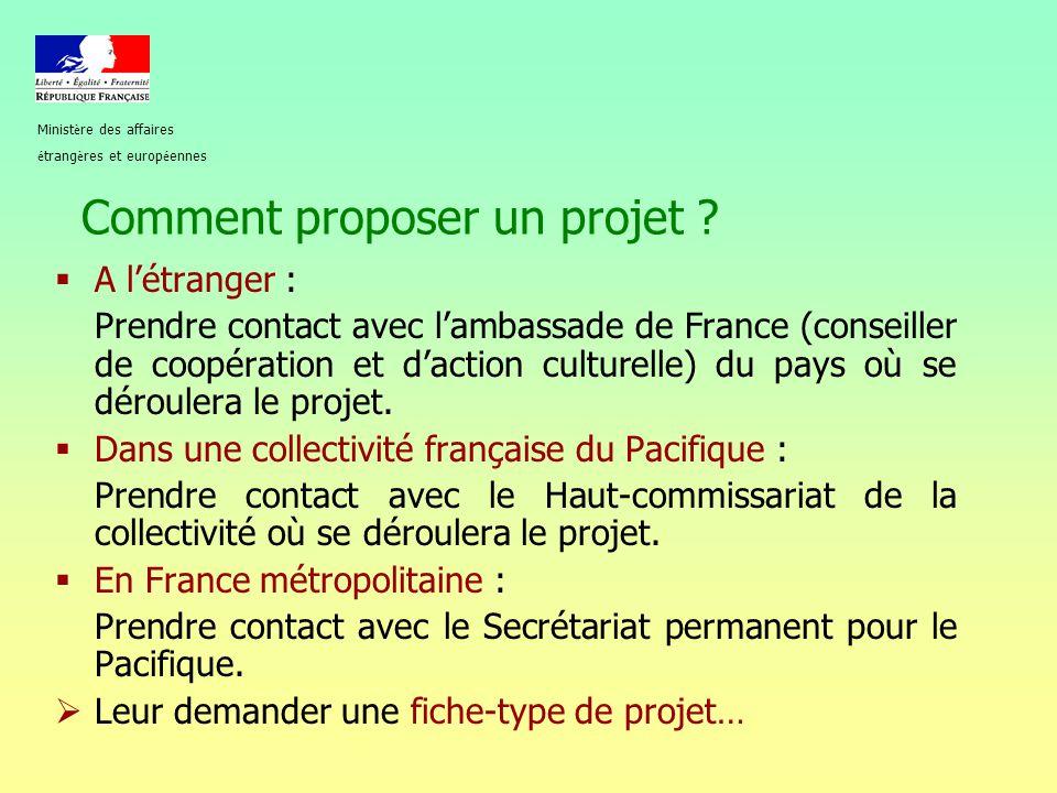 Comment proposer un projet
