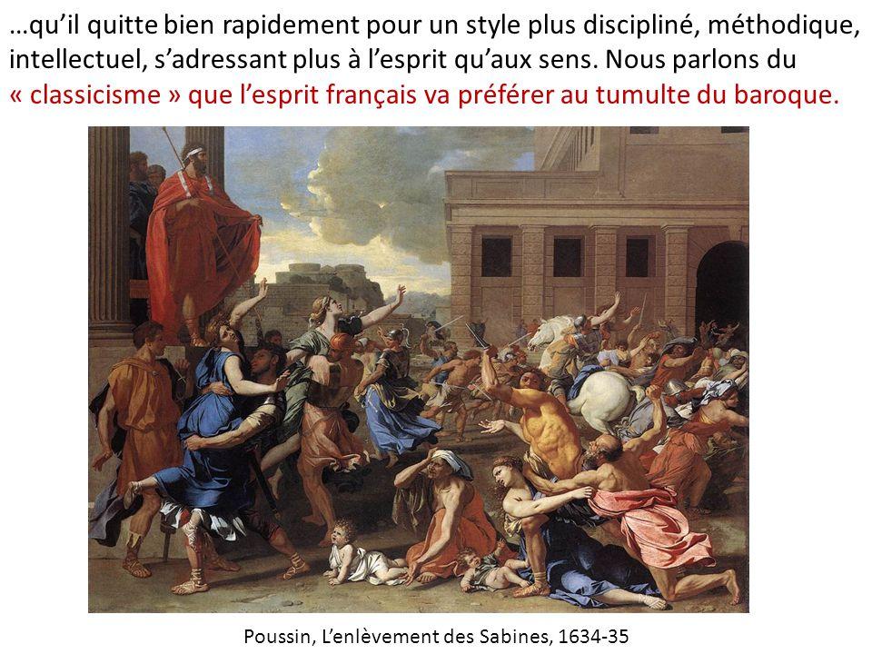 Poussin, L'enlèvement des Sabines, 1634-35