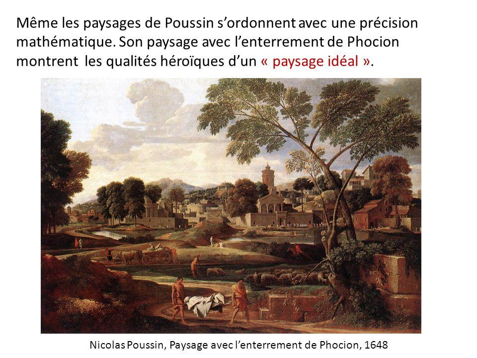 Nicolas Poussin, Paysage avec l'enterrement de Phocion, 1648