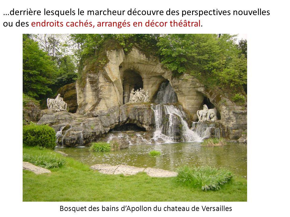 Bosquet des bains d'Apollon du chateau de Versailles