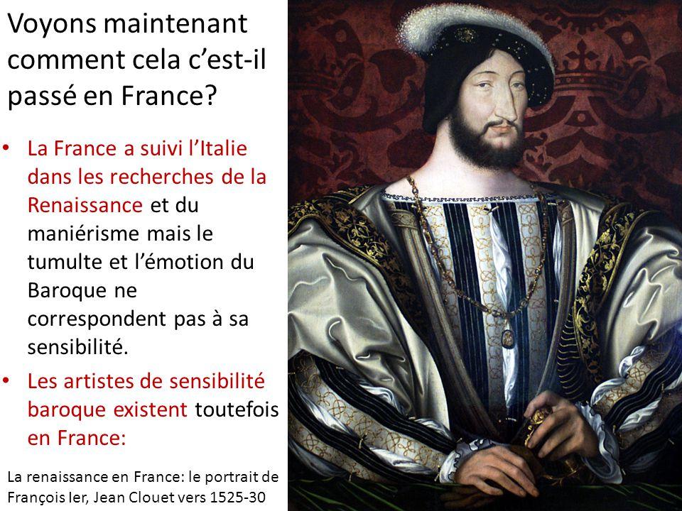 Voyons maintenant comment cela c'est-il passé en France