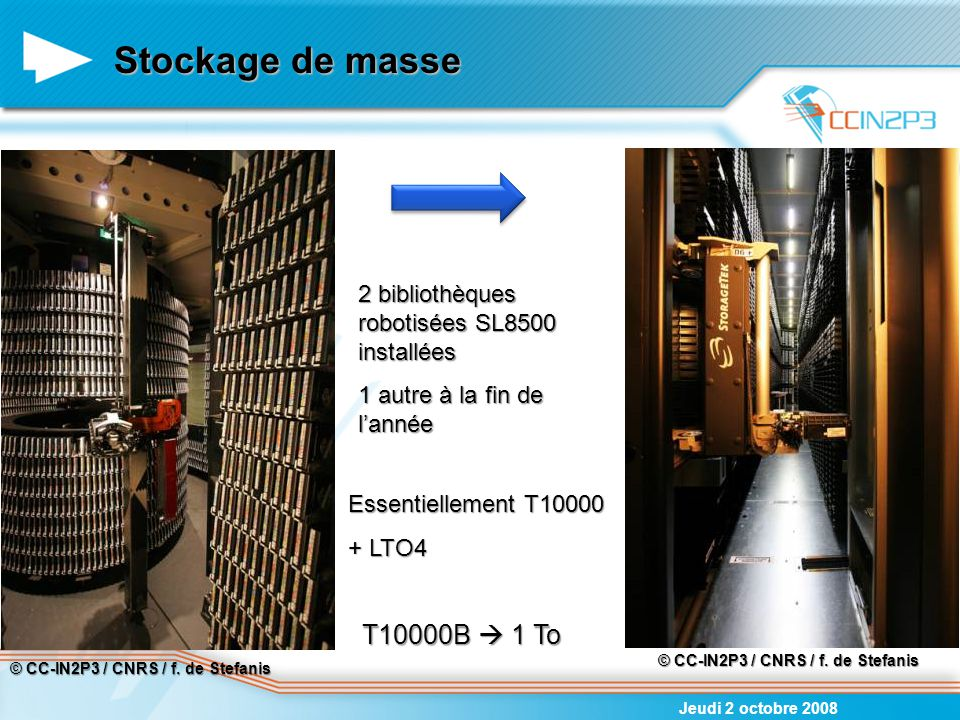Stockage de masse T10000B  1 To