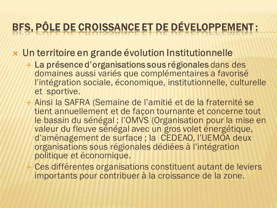 BFS, Pôle de croissance et de développement :