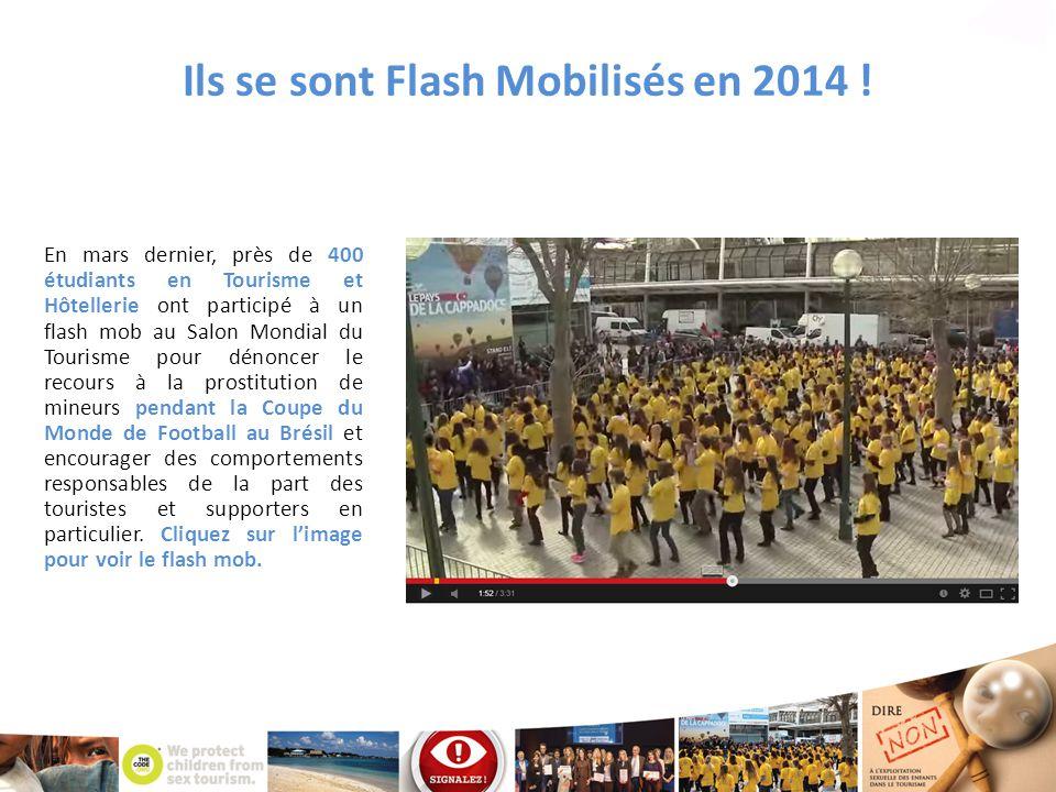 Ils se sont Flash Mobilisés en 2014 !