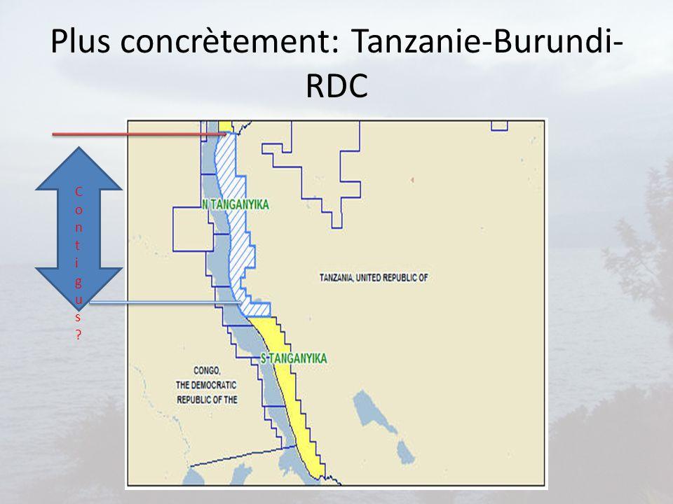 Plus concrètement: Tanzanie-Burundi-RDC