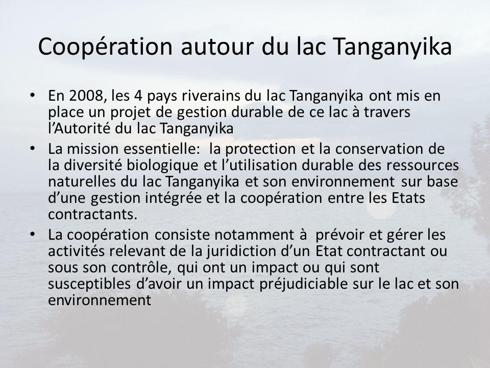 Coopération autour du lac Tanganyika