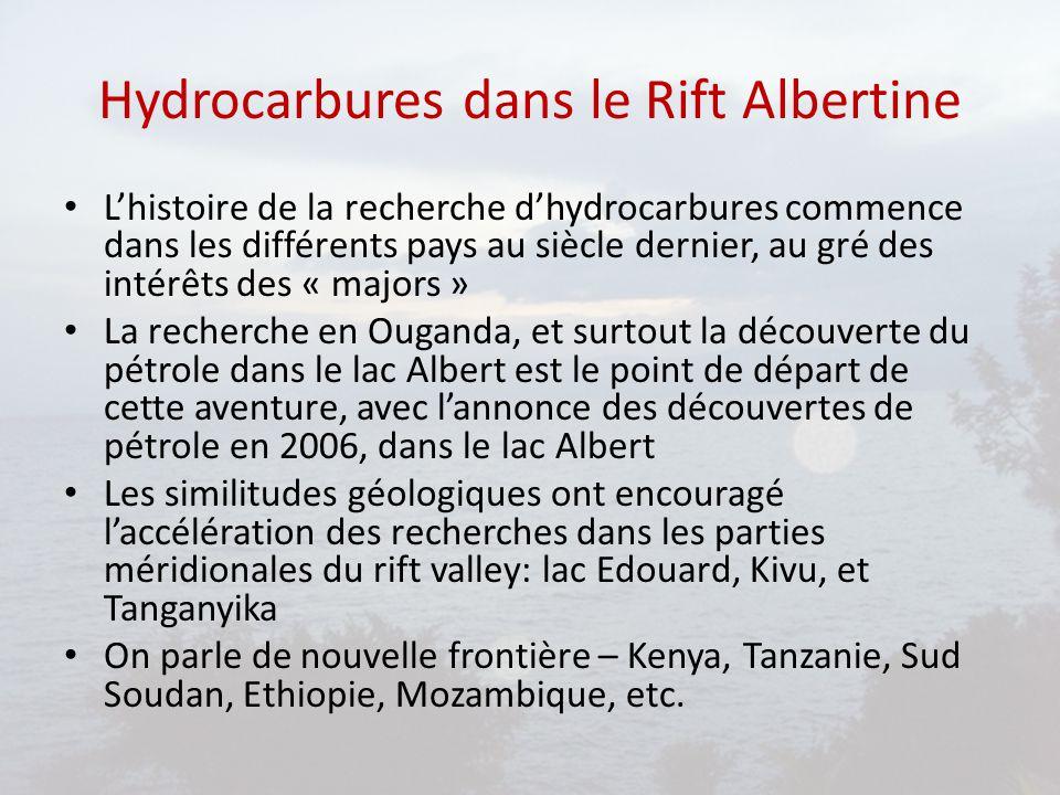 Hydrocarbures dans le Rift Albertine