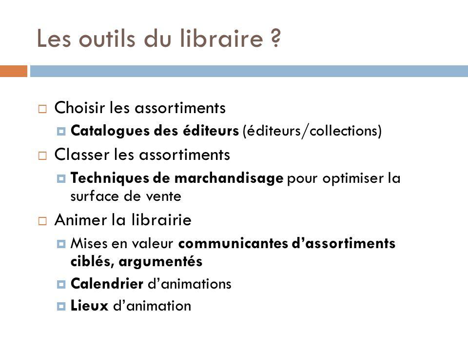 Les outils du libraire Choisir les assortiments