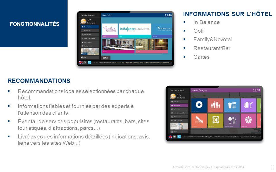 INFORMATIONS SUR L HÔTEL