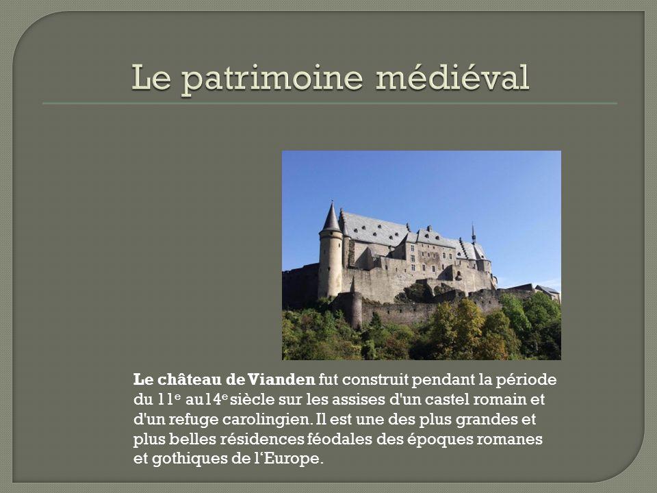 Le patrimoine médiéval