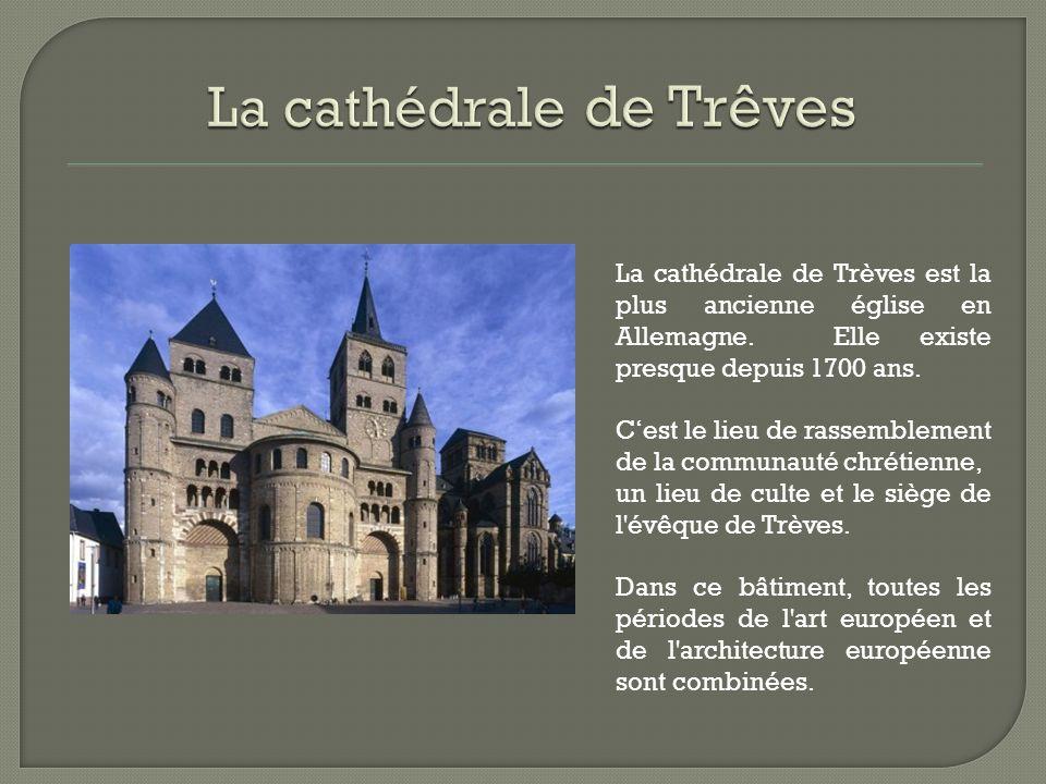 La cathédrale de Trêves