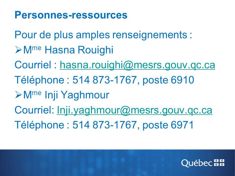 Personnes-ressources