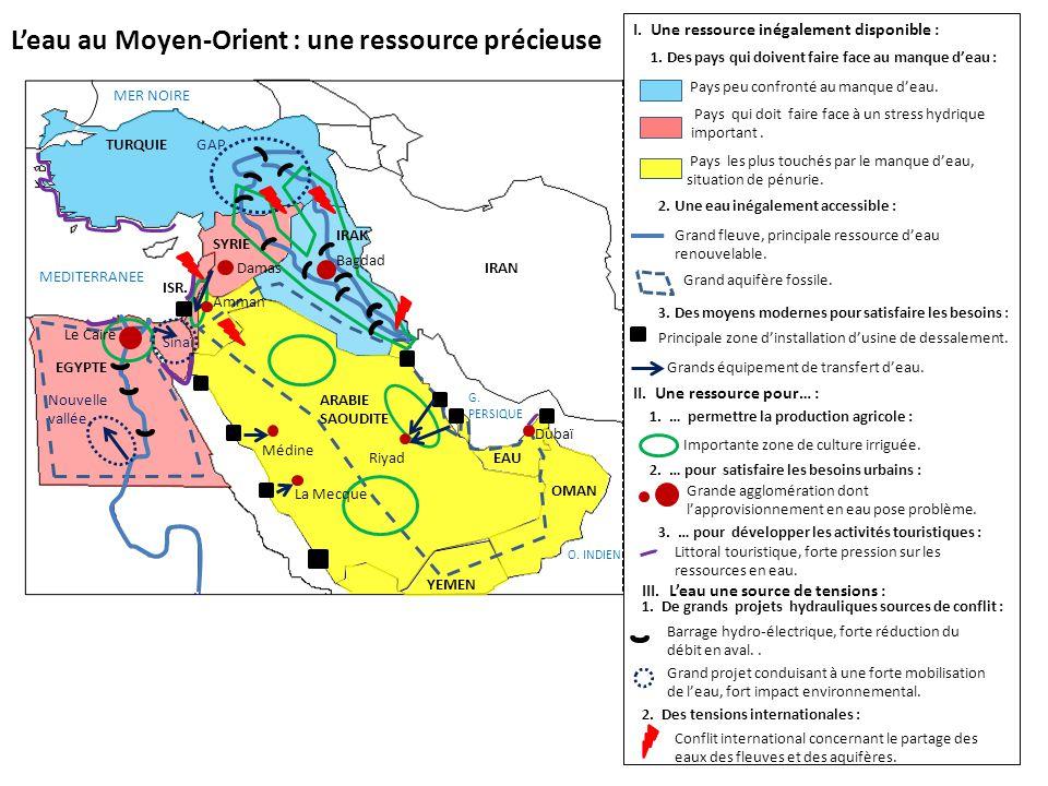 L'eau au Moyen-Orient : une ressource précieuse
